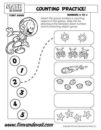Counting Worksheet Tims Printables