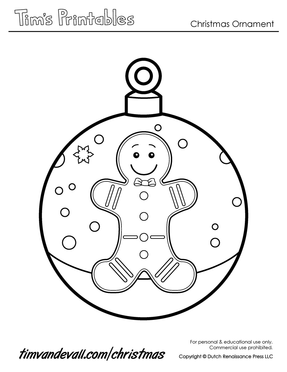 christmas ornament templates - photo #41