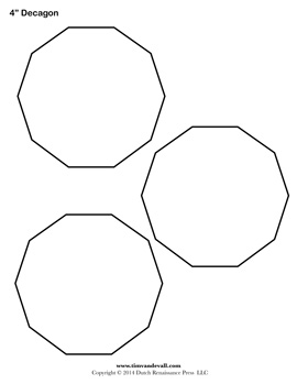 Decagon Sheet