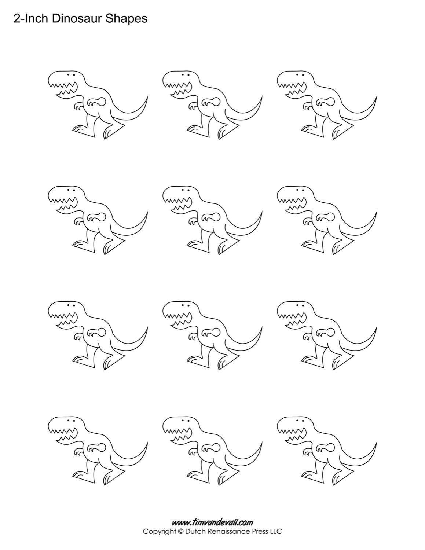 dinosaur templates dinosaur templates