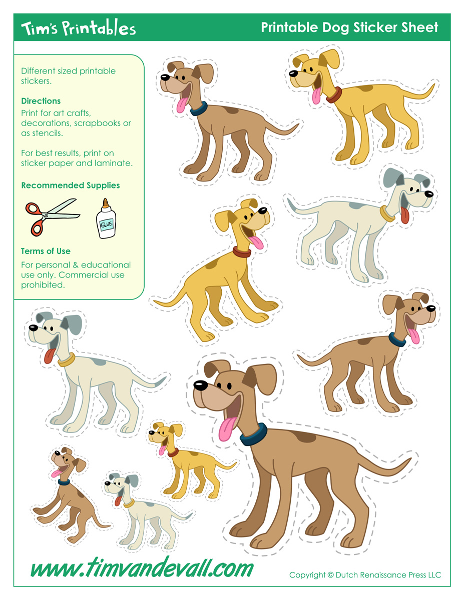 picture relating to Printable Dog Stencils named Pet Templates, Pet Styles, and Printable Pet dog Stickers
