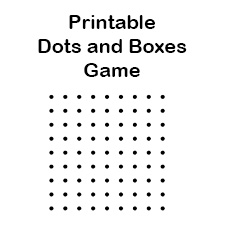 Free Printable Dots and Boxes Game