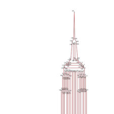 Empire State Building Dot-to-Dot