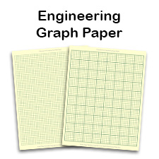 Engineering Graph Paper Template 85x11 Letter Printable PDF