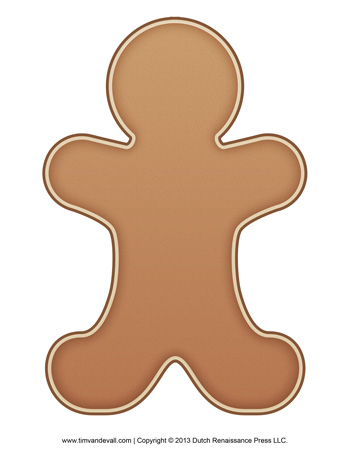 Gingerbread man template tims printables gingerbread man template maxwellsz