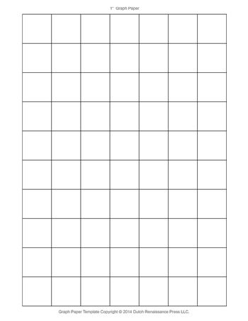 Graph Paper   Inch  TimS Printables