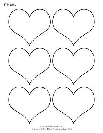 It is a graphic of Unusual Heart Outlines Printable