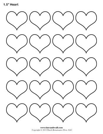 Heart template 15 inch tims printables heart template 15 inch maxwellsz