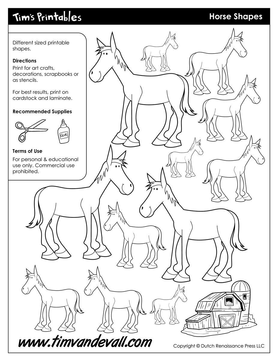It's just a picture of Current Horse Worksheets Printable
