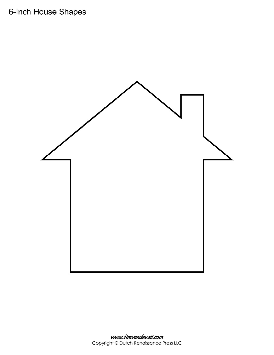 It's just a graphic of Superb Printable House Template