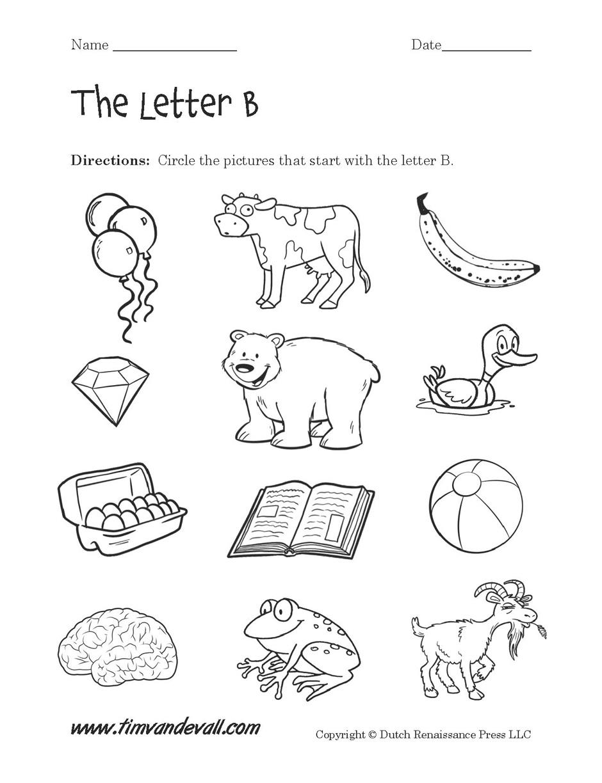 Letter B Worksheet Alphabet Worksheet Big Letter B DOC Ed Letters – Letter B Worksheet