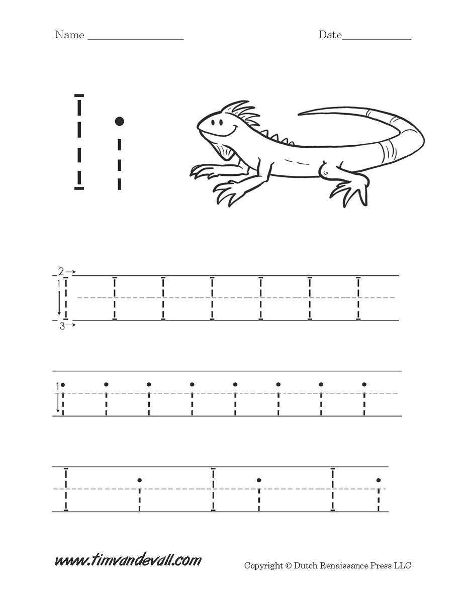 Uncategorized Letter I Worksheet letter i worksheets preschool alphabet printables worksheets