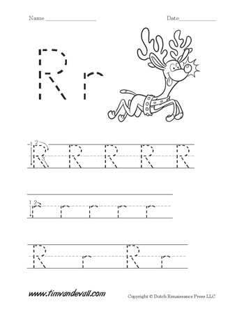 Letter R Worksheet Tims Printables