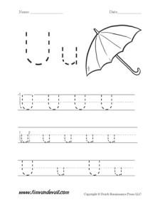 Letter-U-Worksheet-01