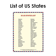 Fabulous image throughout printable list of us states