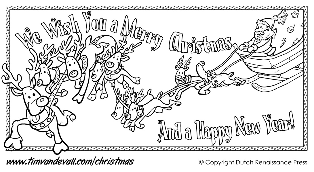 free merry christmas banner