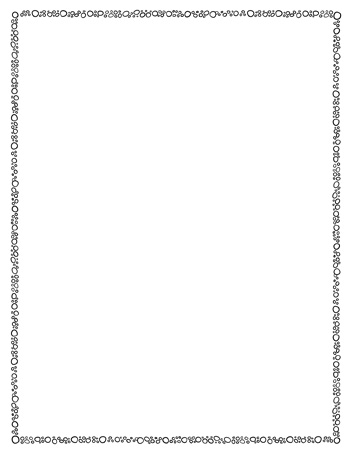 Page-Border-Template-Circles-BW-350