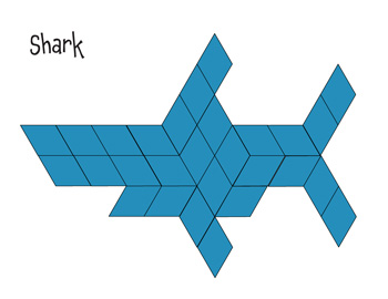 Pre School Worksheets » Pattern Block Worksheets Pdf - Free ...