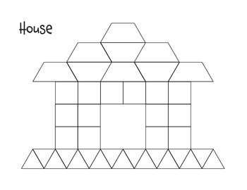 image relating to Printable Pattern Block Templates referred to as Routine-Block-Templates-25-350 - Tims Printables