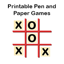 photo relating to Printable Paper Games for Adults known as Totally free Pen and Paper Online games Printable Pencil and Paper Templates