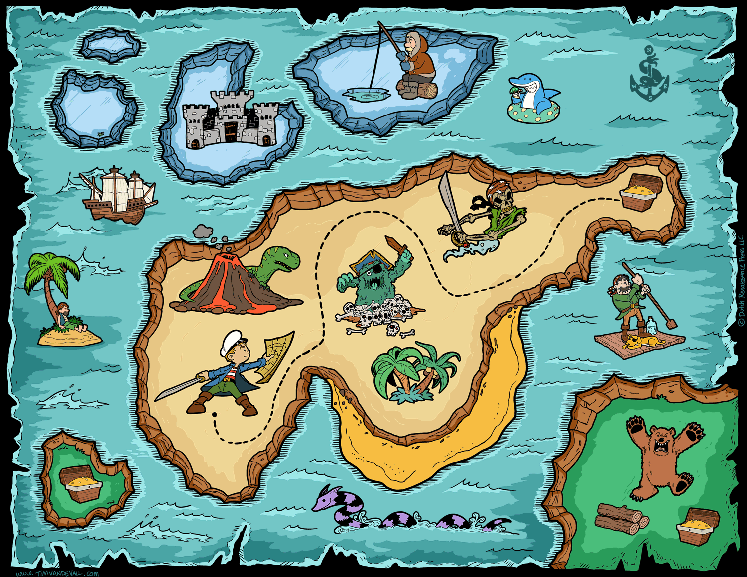 Stupendous image regarding printable treasure maps