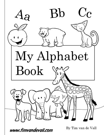 photograph regarding Abc Book Printable named Totally free Printable Alphabet Guide PDF Printables for Preschool