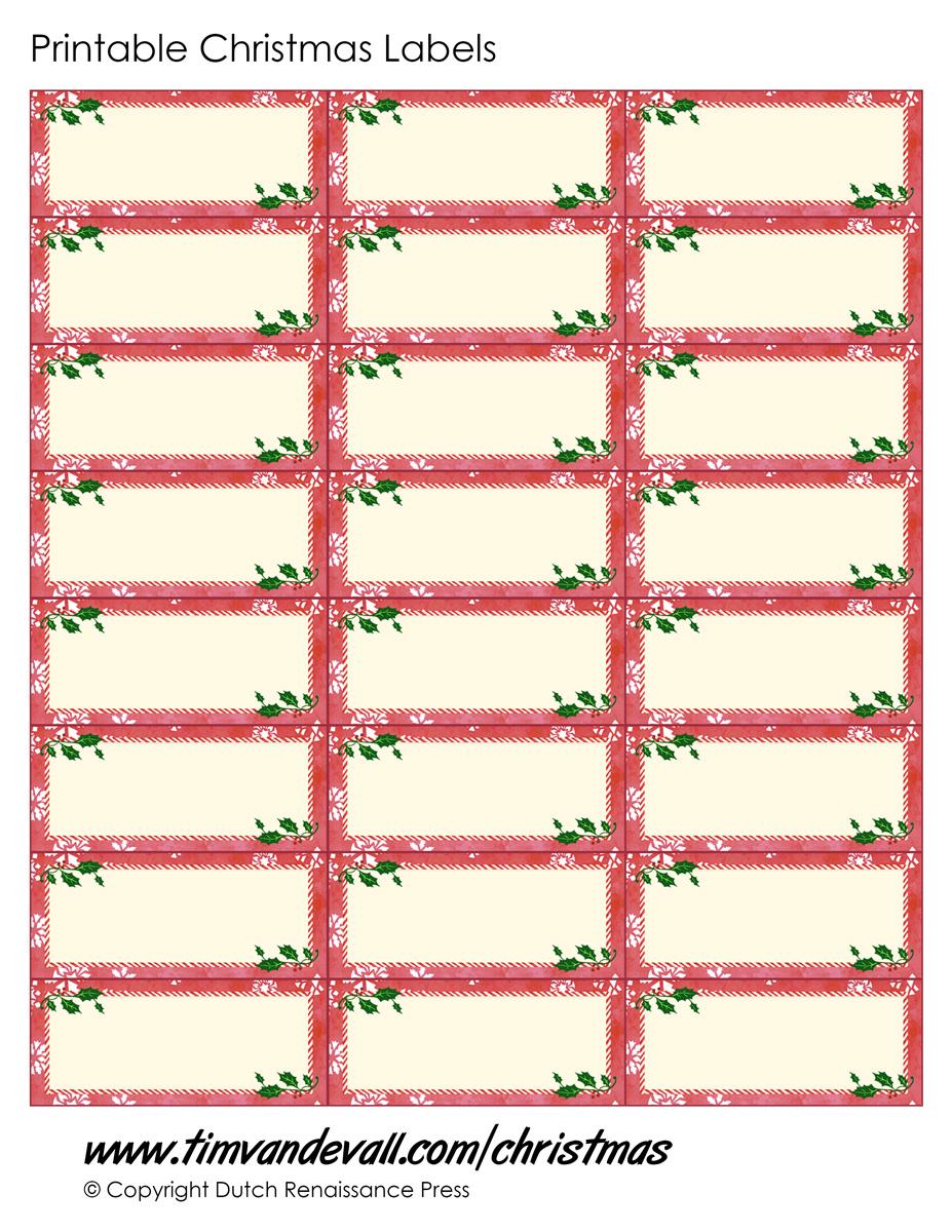 christmas template printable - photo #49