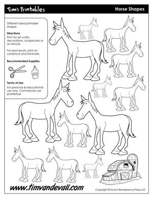 Horse Templates