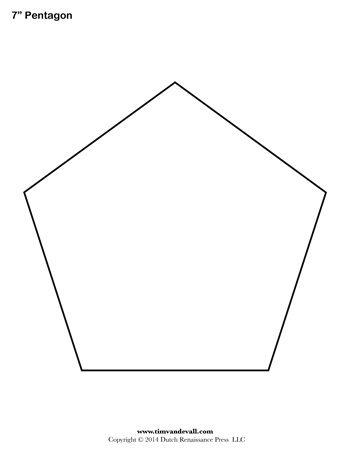 free printable shape - Shapes Templates