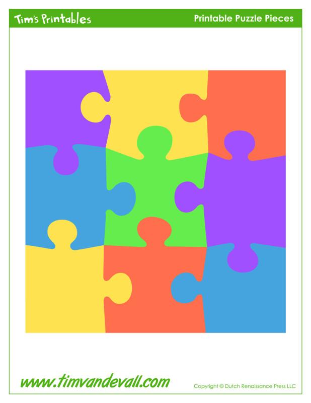Printable Puzzle Piece Stickers Tim Van De Vall