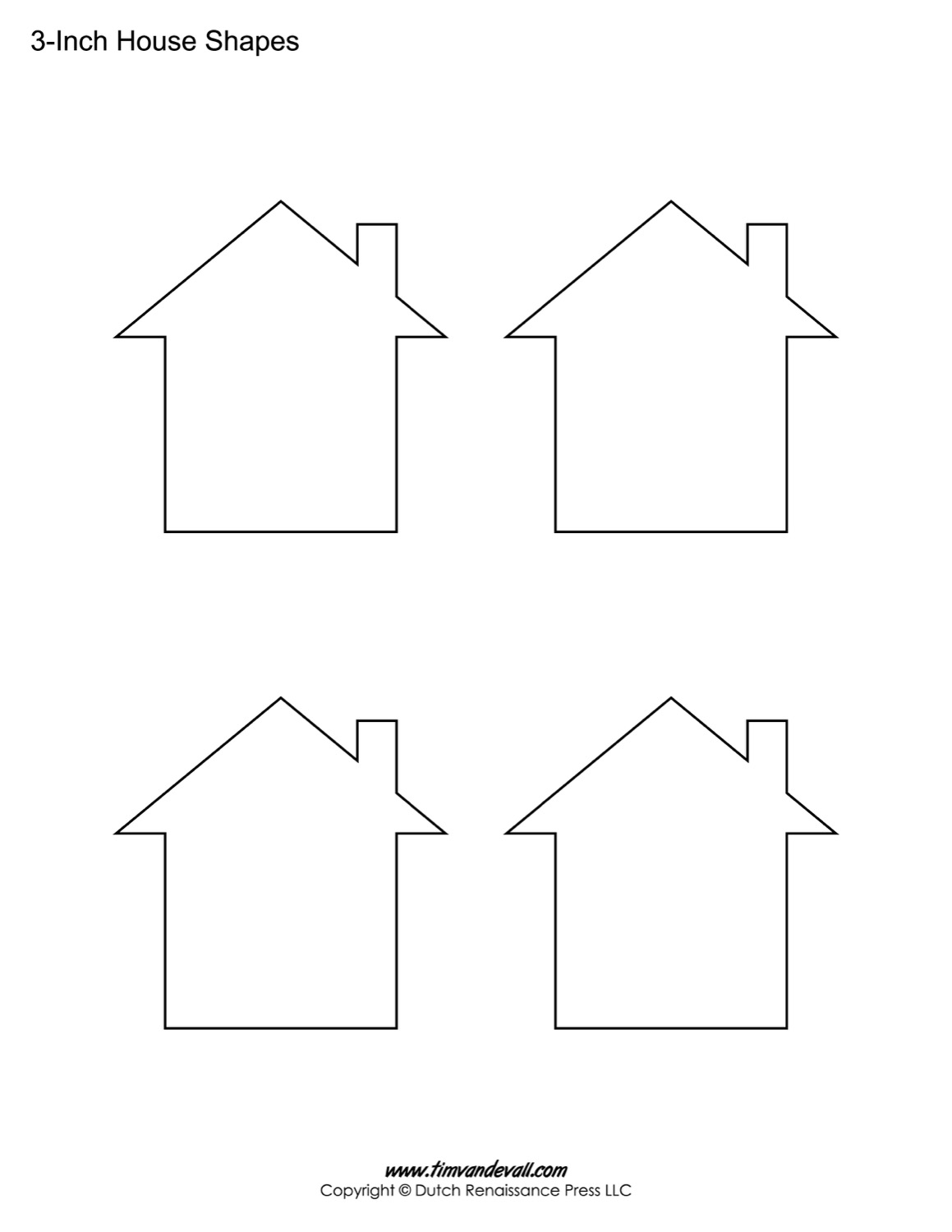 Insane image with regard to house template printable