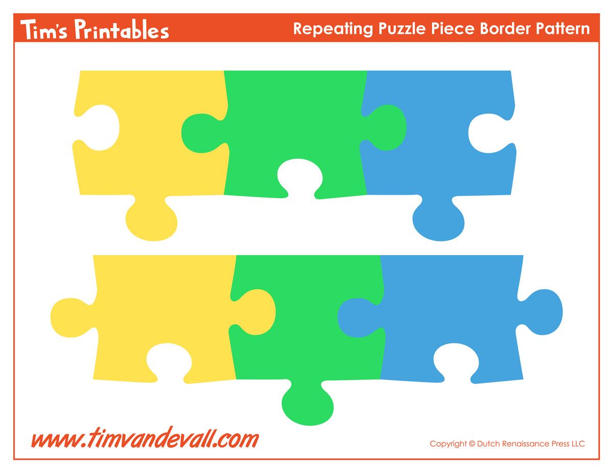 printable puzzle piece