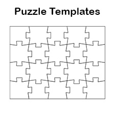 Blank Jigsaw Puzzle Templates | Make Your Own Jigsaw Puzzle for Free
