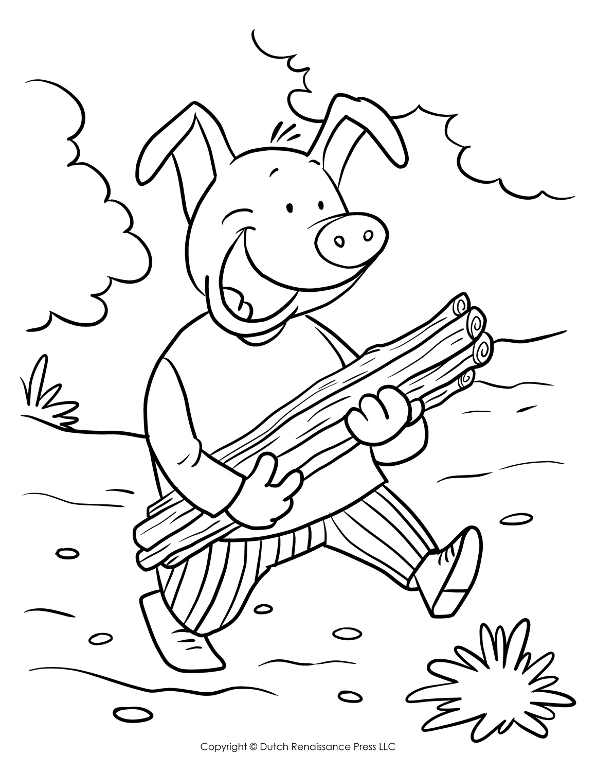 Little Girl Coloring Pages Printable Girl Coloring Pages ... | 1500x1159
