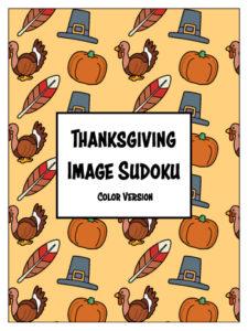 Thanksgiving Image Sudokus - Color