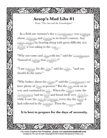 photograph about Mad Libs for Kids Printable identify Outrageous Libs #1 - Tims Printables