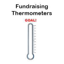 photo relating to Goal Thermometer Printable known as Fundraising Thermometer Templates for Fundraising Gatherings