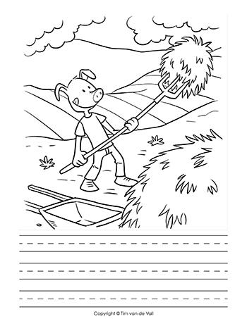 Three Little Pigs Activity Book