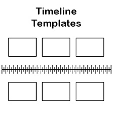 Free Blank History Timeline Templates for Kids and Students