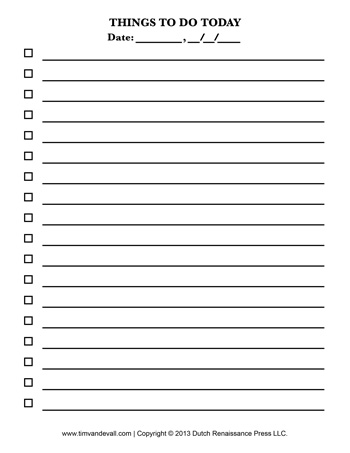 ben day dots template - check list template tim 39 s printables