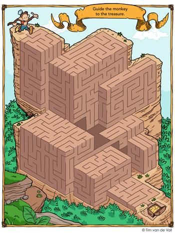 Treasure Hunt Maze