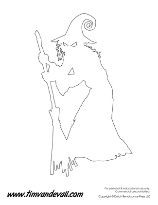 Witch Outline