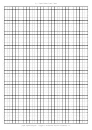 A4 Graph Paper Template PDF, (8.27×11.69 in, 210×297 mm)