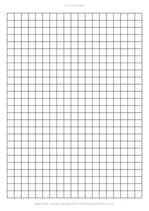 A Graph Paper Template Pdf X In  Mm