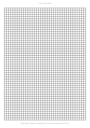 a4 graph paper, 5mm PDF