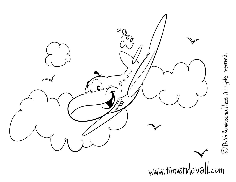 airplane coloring pages tim u0027s printables