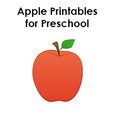 Printable Apple Templates to Make
