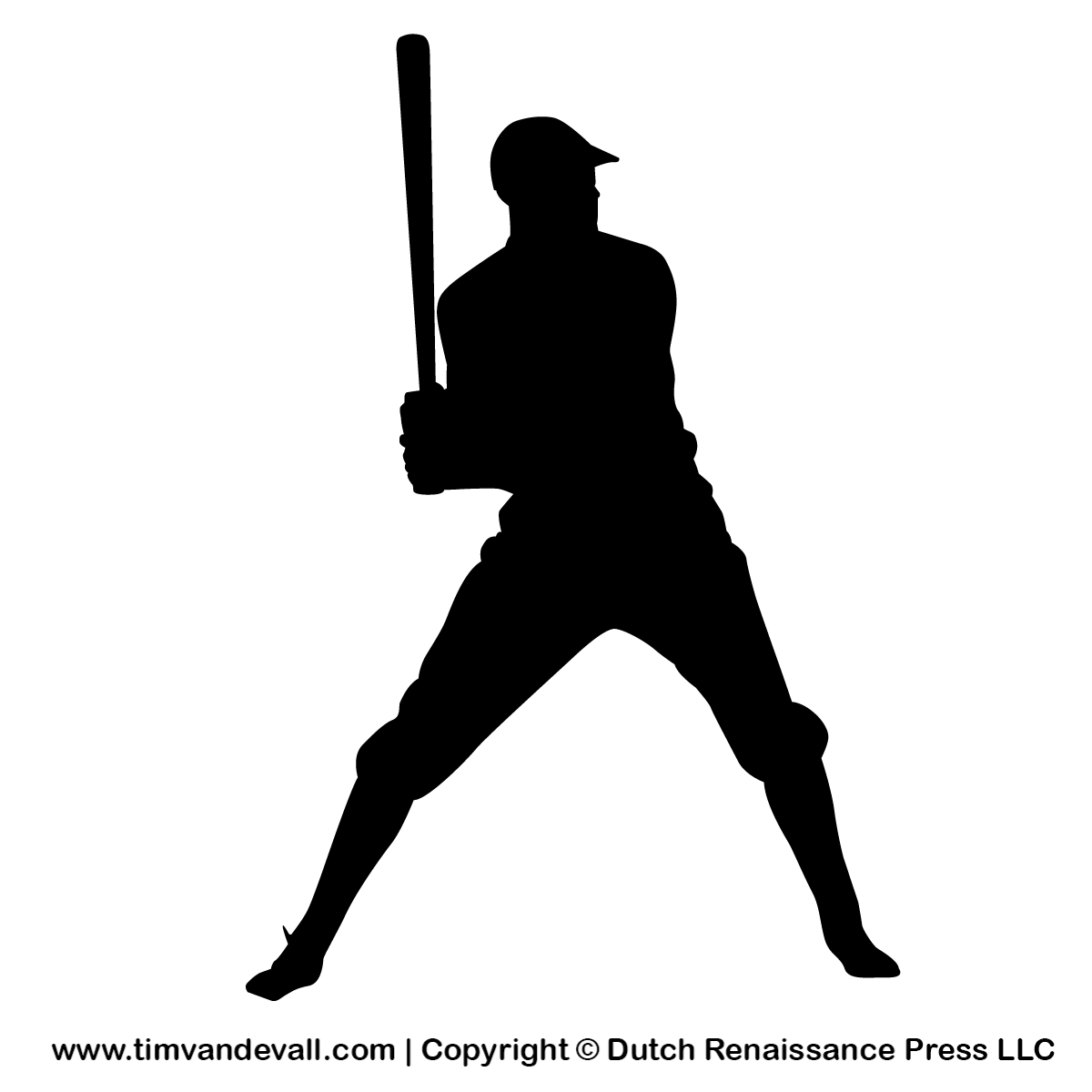 free clipart baseball player silhouette - photo #15