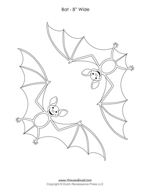 Bat Template Printable