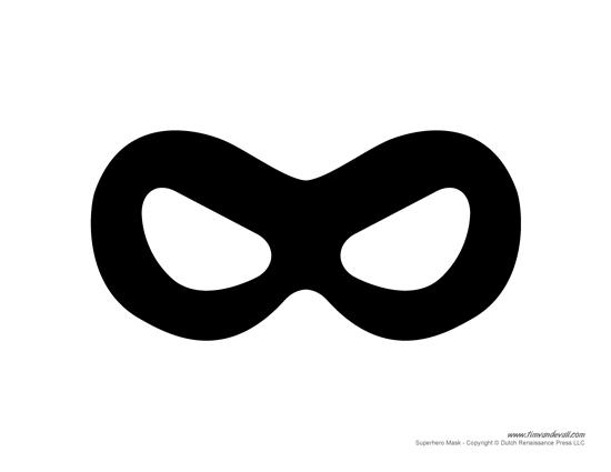 Robin Mask Printable - annesutu